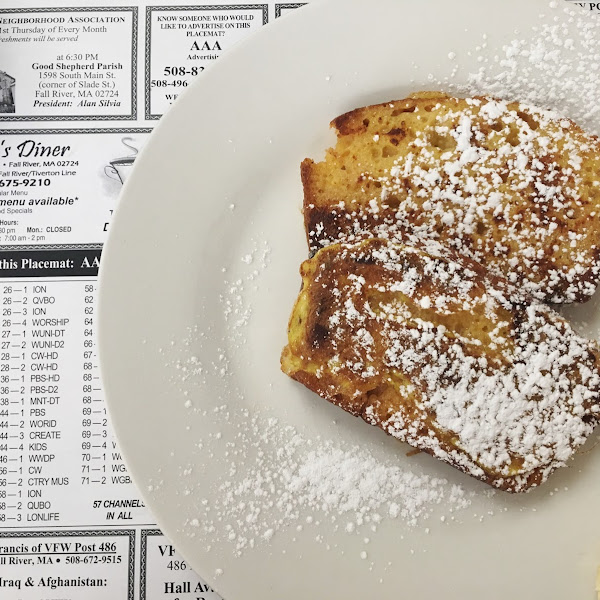 Sweetbread French toast!!!😍😍😍