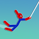 Super Hero Hook: Stickman Rope Swing