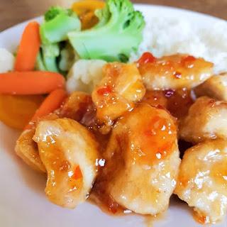 Easy Sweet Chili Chicken.