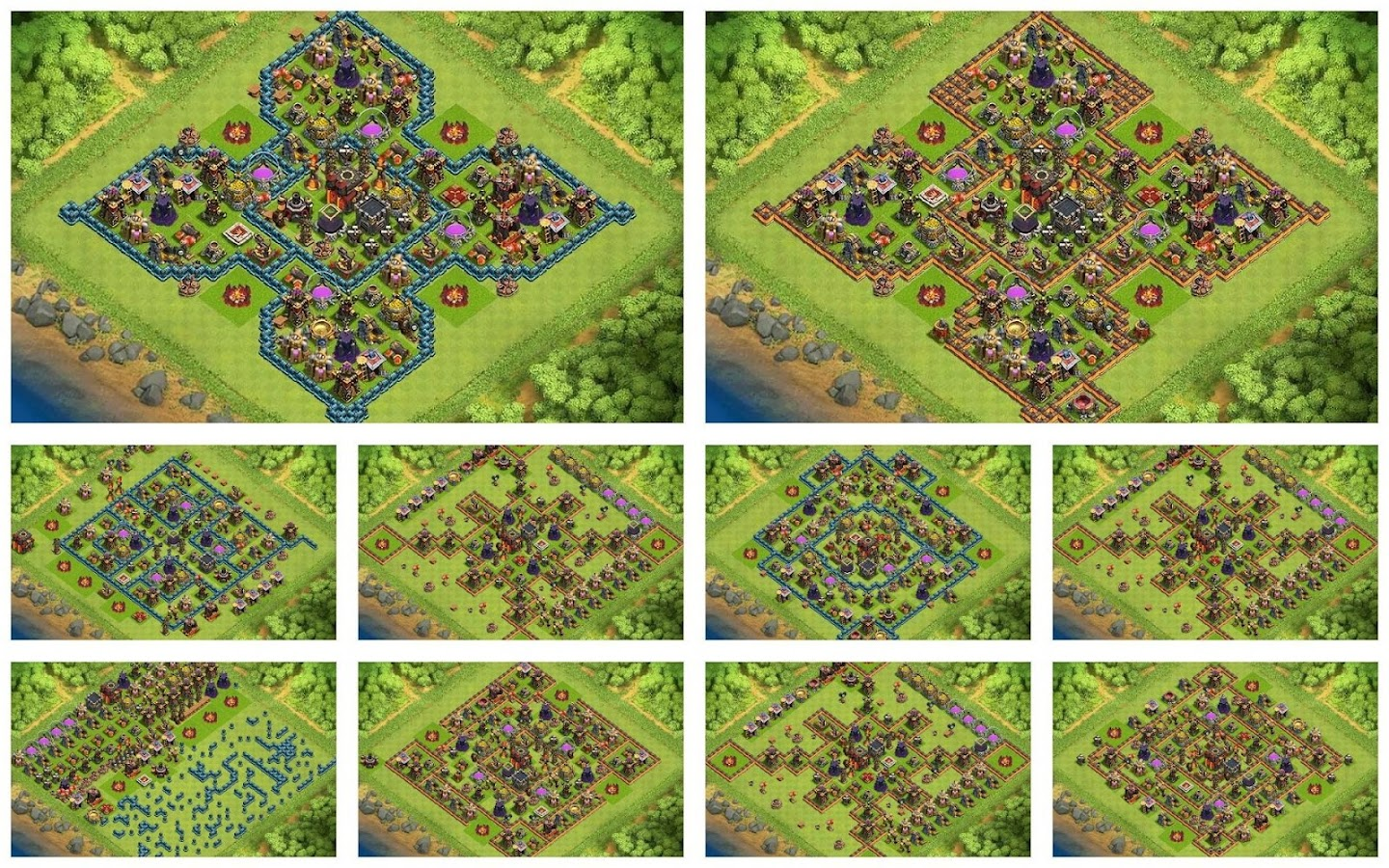 Top maps coc th10 android apps on google play