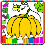 Learn Fruits by Painting Game Icon