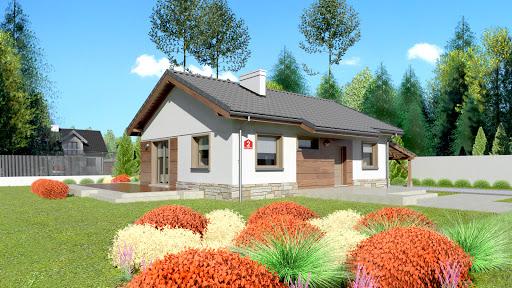projekt Dom przy Przyjemnej 2 bis