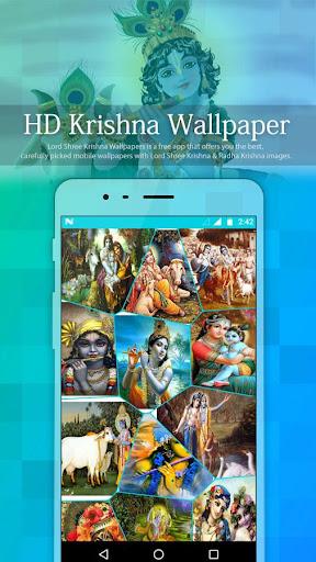 Krishna God HD Wallpaper 1.0 screenshots 2