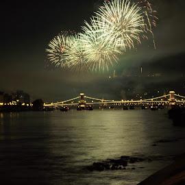 by László Nagy - Abstract Fire & Fireworks