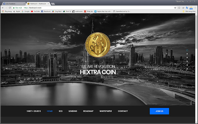 Hextracoin Price - Chrome Web Store