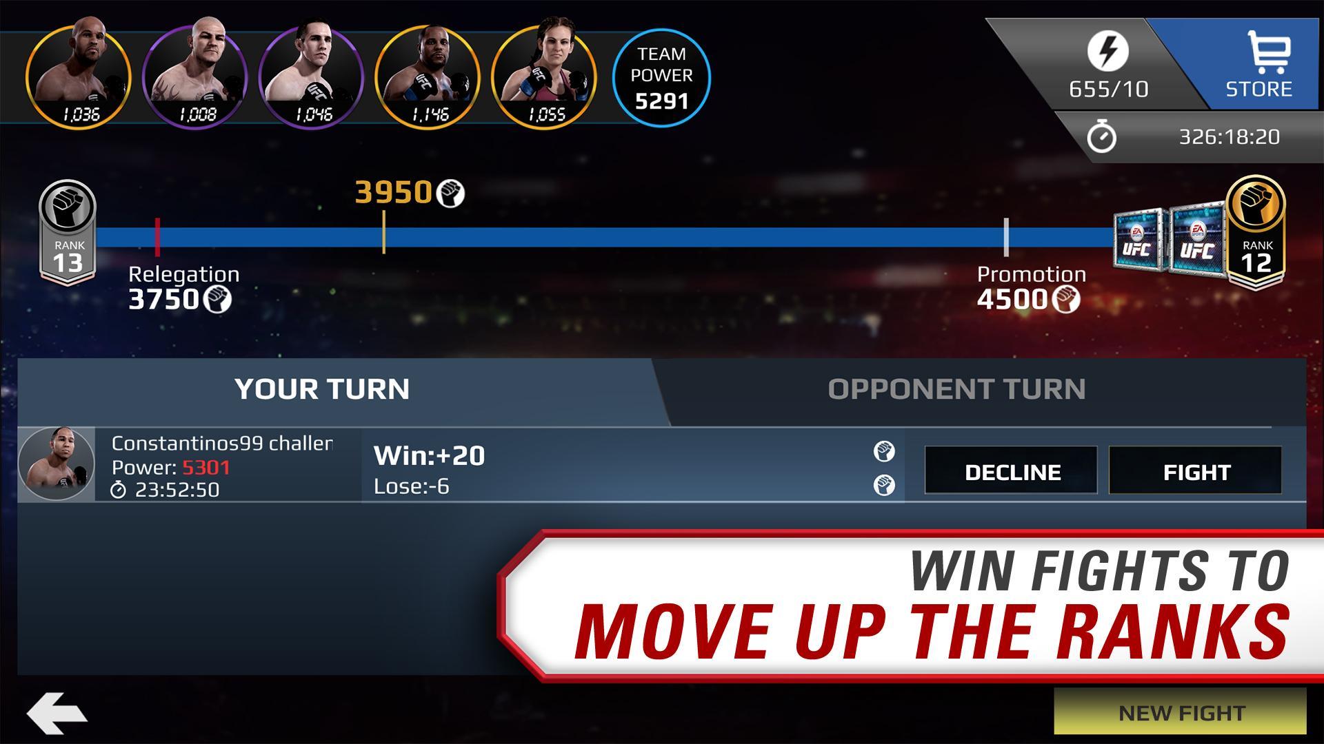 EA SPORTS UFC® screenshot #2