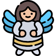 Funny Little Angels Wallpaper icon