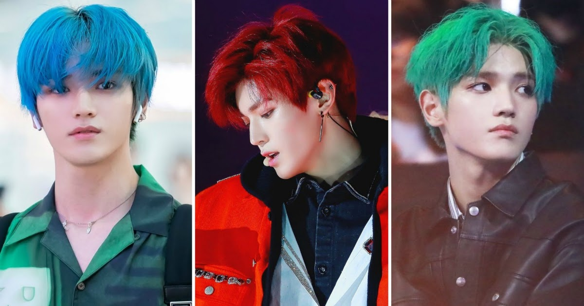 These 10 K Pop Idols Are Known To Dye Their Hair The Most Koreaboo