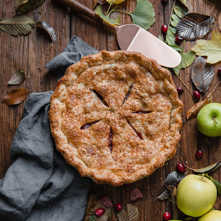 Apple Cranberry Pie.
