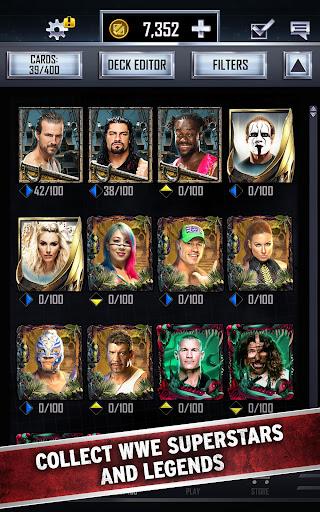 WWE SuperCard – Multiplayer Card Battle Game apktreat screenshots 2