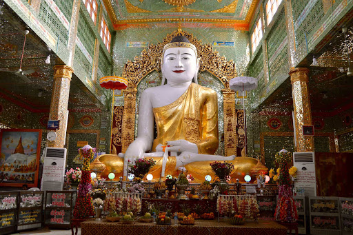 buddha-statue - Overwhelmingly a Buddhist country, Myanmar has literally thousands and thousands of temples, pagodas and stupas.
