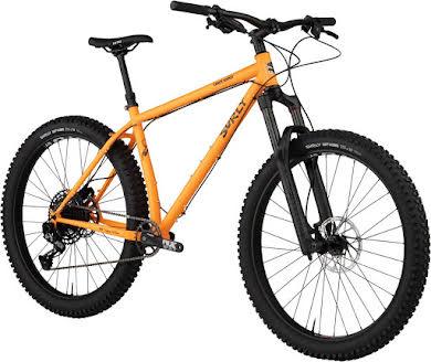 Surly Karate Monkey Front Suspension Mountain Bike - Toxic Tangerine alternate image 0