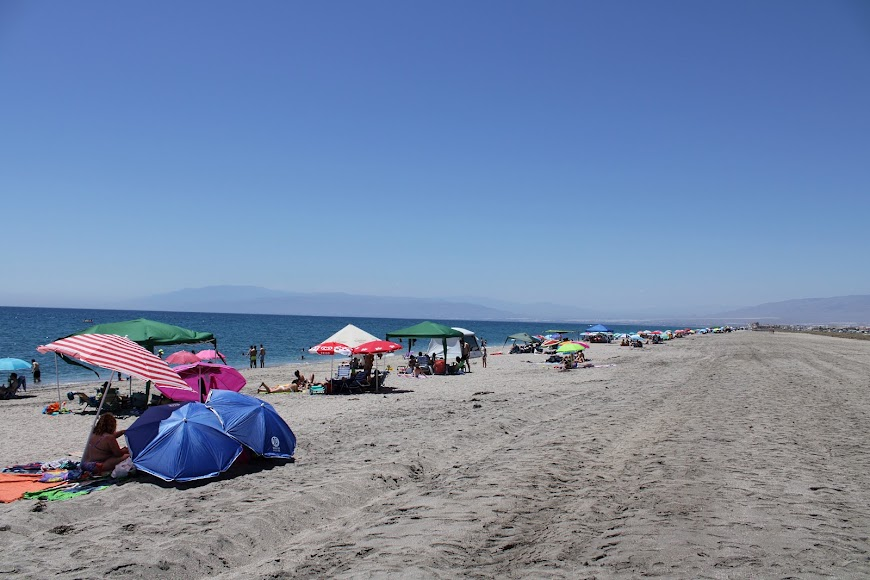 Playa de las Salinas, en el Cabo de Gata.