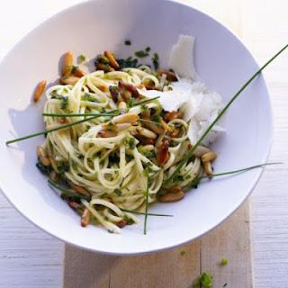 Herb and Pine Nut Tagliolini