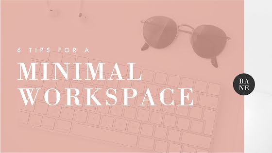 Minimal Workspace - YouTube Thumbnail Template