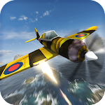 WW2 Shooting Airplane Attack Icon