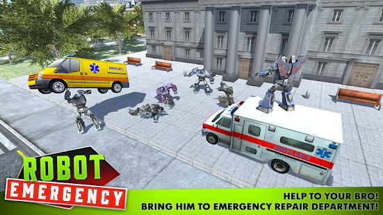 Robot Emergency - náhled