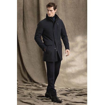Oscar Jacobson Danton coat navy