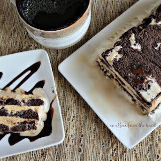 Coffee & Donuts Ice Cream Cake Recipe