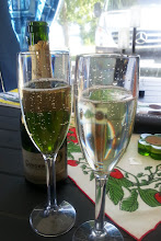 Foto: Champagnefrukost :)