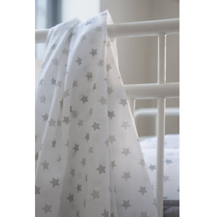 Littleheart Muslinfilt Little Star Grey