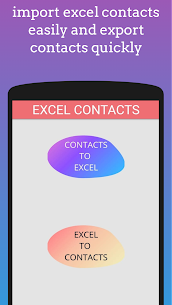 Excel To Contacts – import xlsx files 3