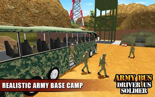Army Bus Driver 2020: Real Military Bus Simulator apktram screenshots 15