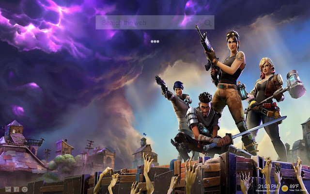 Fortnite Live Wallpapers New Tab