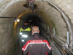 Photo: in der oberen Staumauer Kaprun