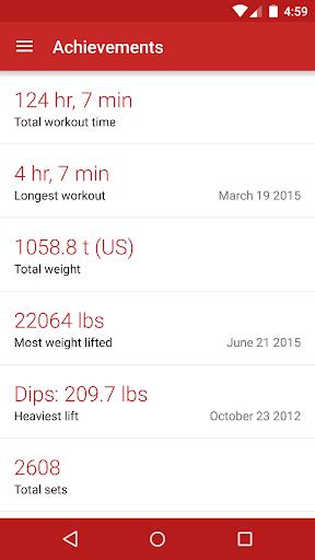 Redy Gym Log, Exercise Tracker screenshot 5