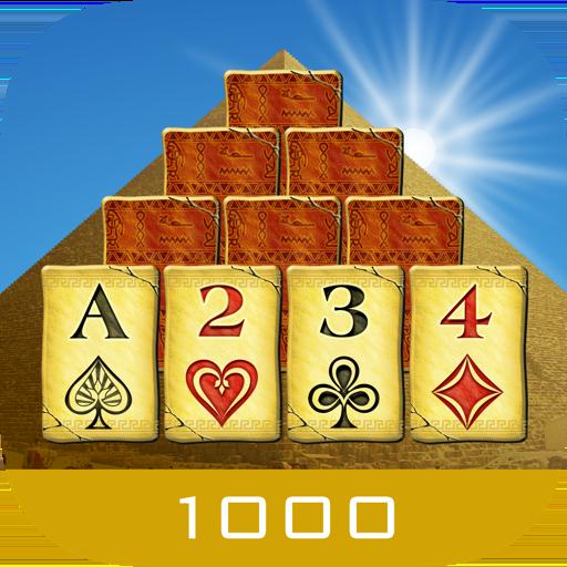 纸牌のピラミッド 1000 - ソリティアの簡単ゲーム LOGO-HotApp4Game