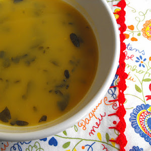Vegetable Soup with Purslane