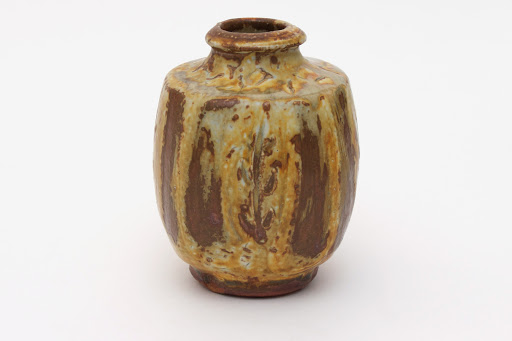Mike Dodd Ceramic Bottle 08