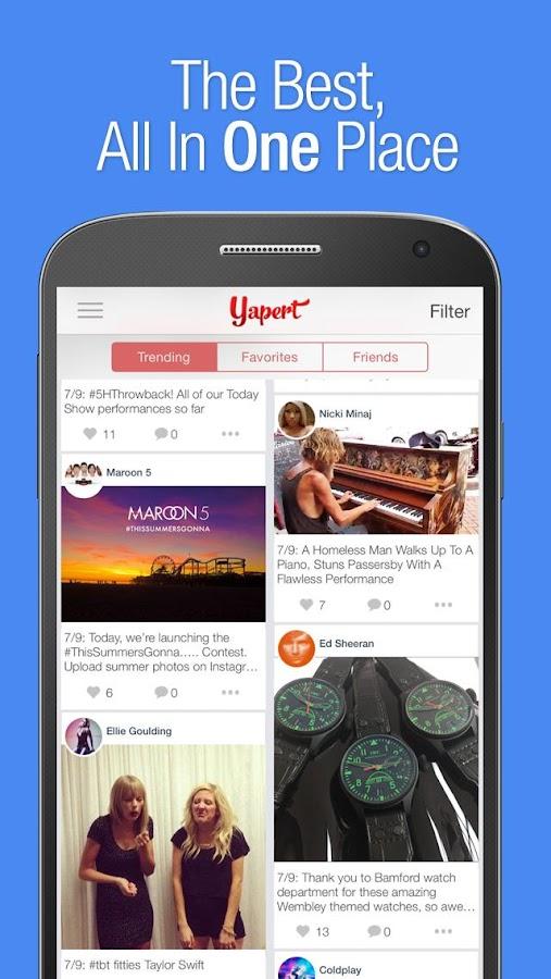 Yapert – Social Made Simple- screenshot