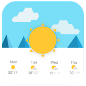 Lollipop Style Weather Widget