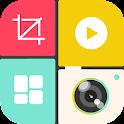 Insta Square Make -No Crop Pic icon