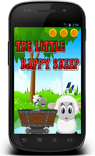 The little happy sheep