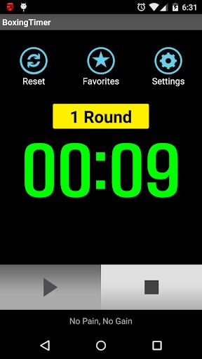 Boxing Timer (Training Timer) 5.4.8 screenshots 3