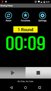 Boxing Timer (Training Timer) - náhled