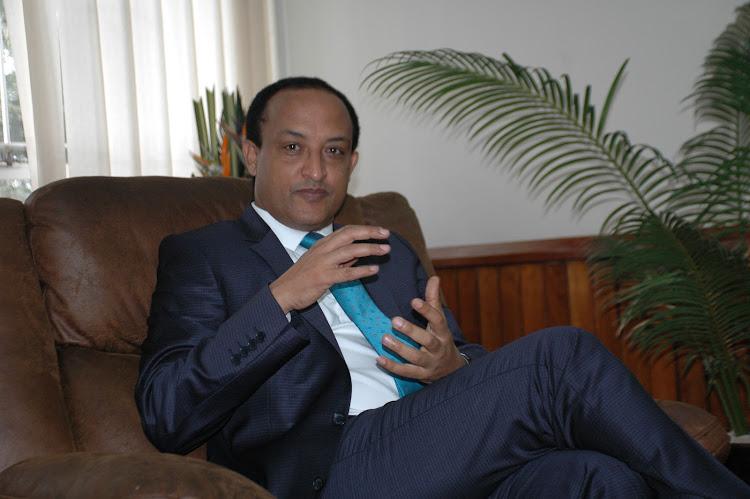 Ethiopian Ambassador Meles Alem