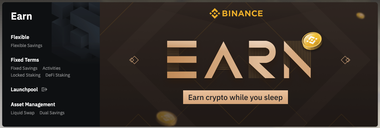 Passive Income with Binance