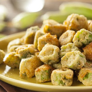 Homemade Fried Okra