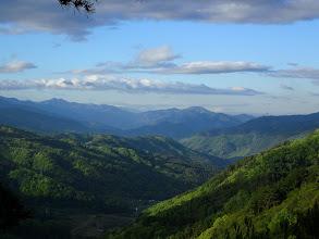 右から戸倉山・二児山など