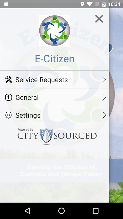 E-Citizen- screenshot