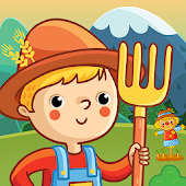 Pretend Play Village Life: Fun Farm In Little Town Android APK Download Free By Mini Gamers Club