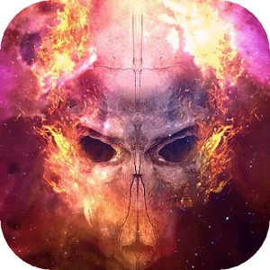 Skull live wallpaper apk