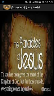 Parables of Jesus Christ screenshot