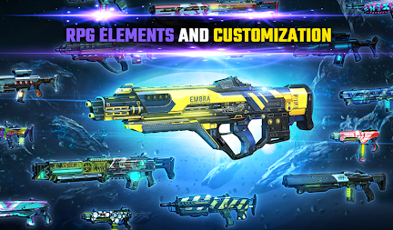SHADOWGUN LEGENDS - FPS PvP Free Shooting Games APK screenshot thumbnail 20