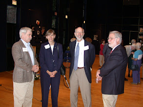 Photo: Andy Goodrich, Jurate and Carl Landwebr, and Scott Gerstenberger