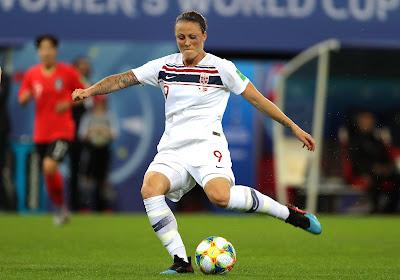 Mondial féminin : la Norvège file en quarts !
